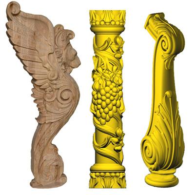 Заходные столбы, колонны